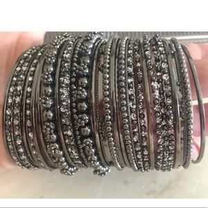 Jewelry - Set of (34) Bangle Bracelets by Amrita Singh